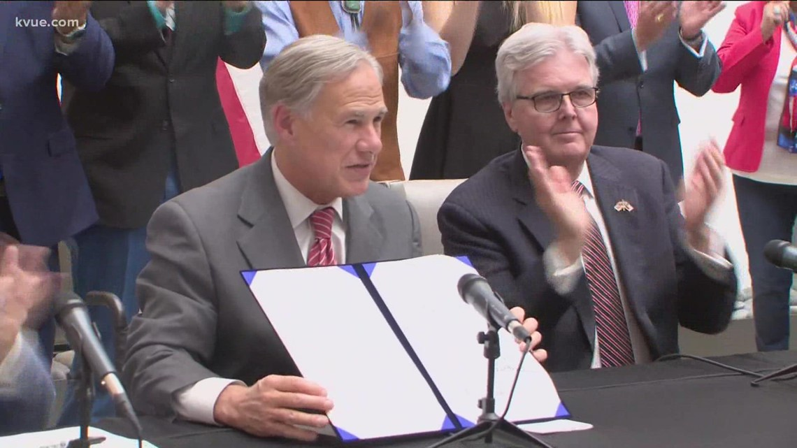 Texas election reform bill signed into law