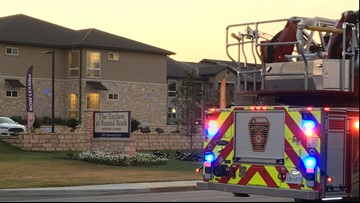Dozens evacuated after fire at Round Rock senior living center