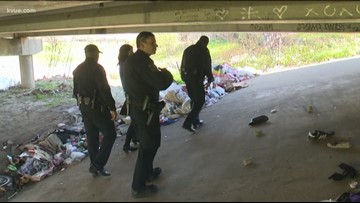 Groups counting Austin's homeless population overnight