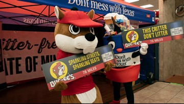 'This critter don't litter.' Buc-ee's and TxDOT team up to fight Texas trash