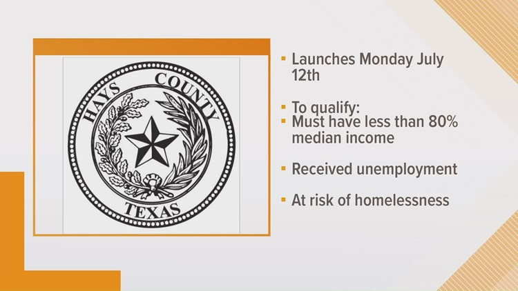 Hays County to launch rental assistance program next week