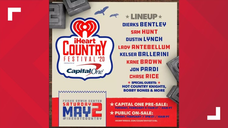 Country's biggest stars unite at Austin's 2020 iHeartCountry Festival