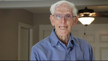 'I feel like a celebrity' | WWII Veteran gets renovations after a contractor nightmare