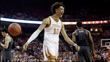 Former Longhorn Jaxson Hayes drafted to the New Orleans Pelicans