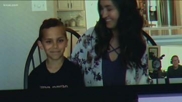 Teacher surprises student on his birthday