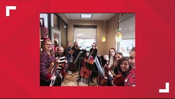 Georgetown High School orchestra featured in Chick-fil-A commercial