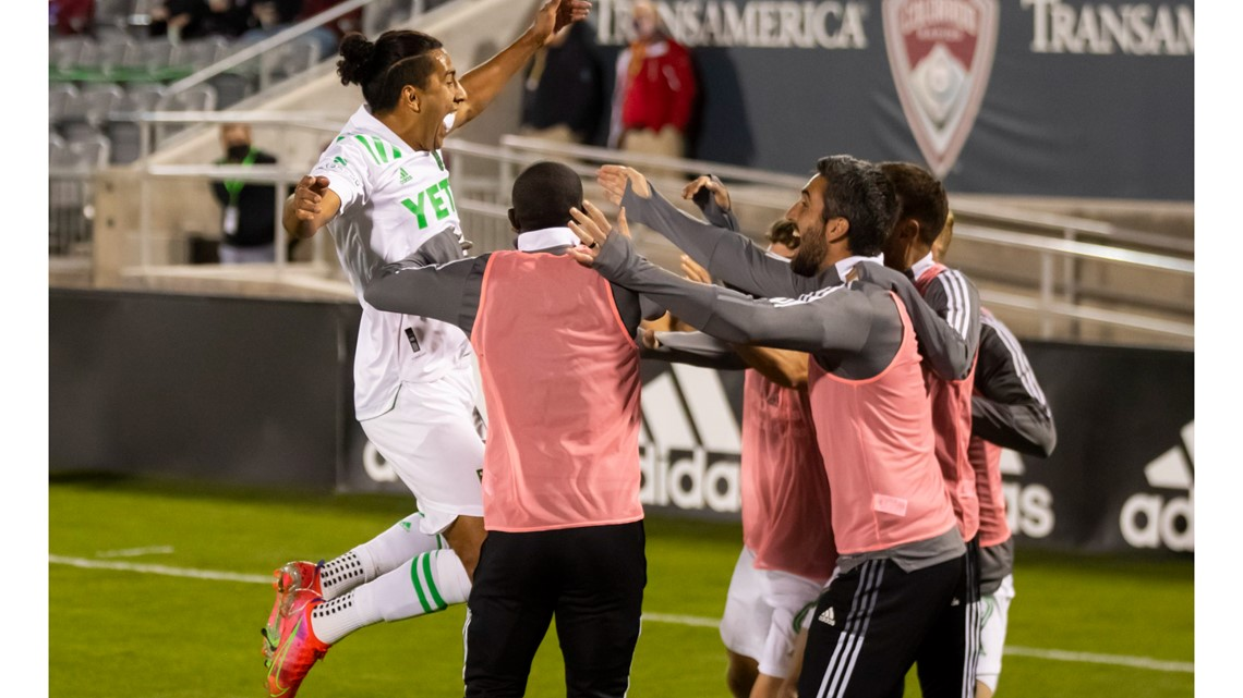 HIGHLIGHTS: Austin FC tops Colorado Rapids, 3-1, secures first win in franchise history