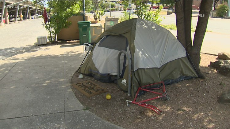 Gov. Greg Abbott reminding local entities to enforce public camping ban