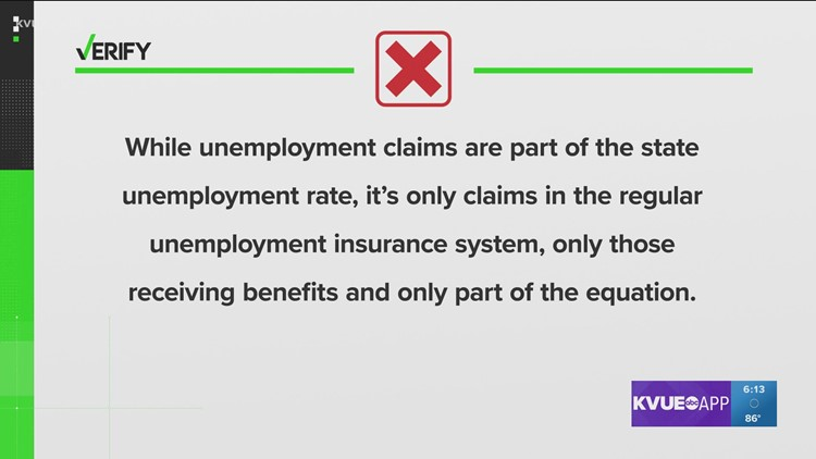 VERIFY: No, the unemployment rate will not be impacted if you keep requesting benefits but are no longer qualified