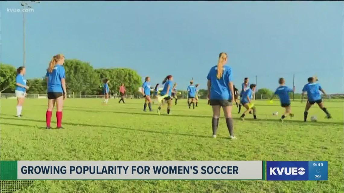 Austin FC: Growing popularity for women's soccer