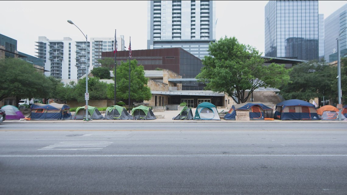 Austin City Council weighing criteria for homeless campsites in Austin