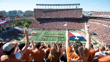 Can you beat the KVUE Sports team in a Texas Longhorns pick 'em? Submit your predictions here.