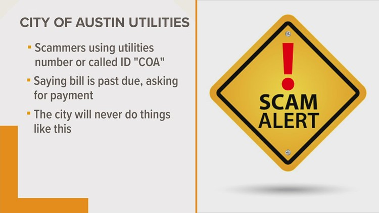 Utilities scammers target Austin residents
