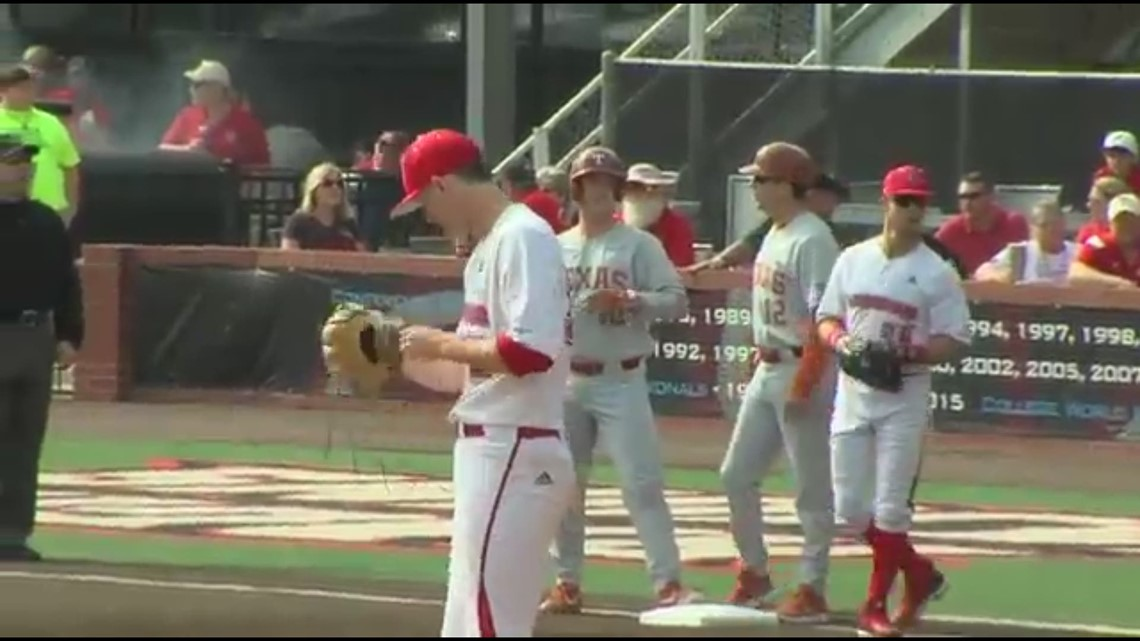 Longhorns wins Game 2, series with 6-5 win over Louisiana