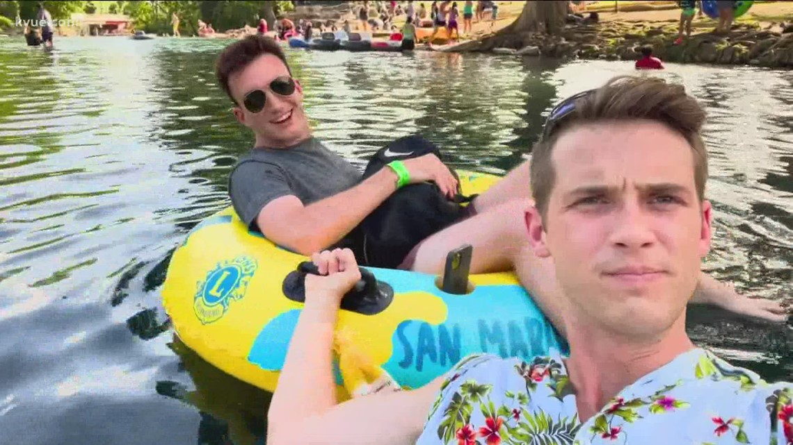 The Great Outdoors: Tubing in San Marcos
