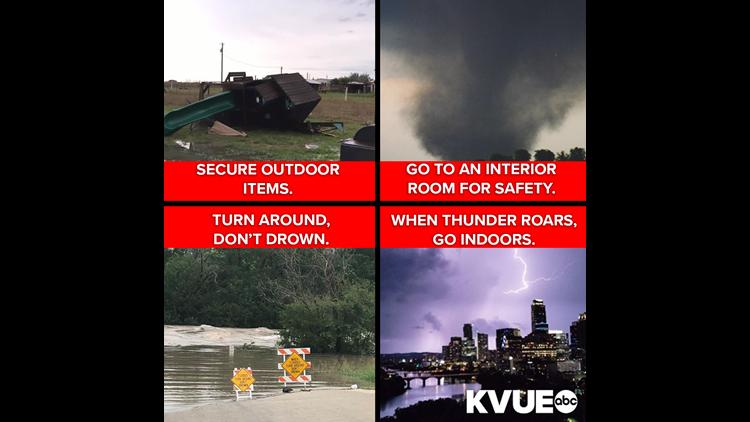 Prepare for severe weather