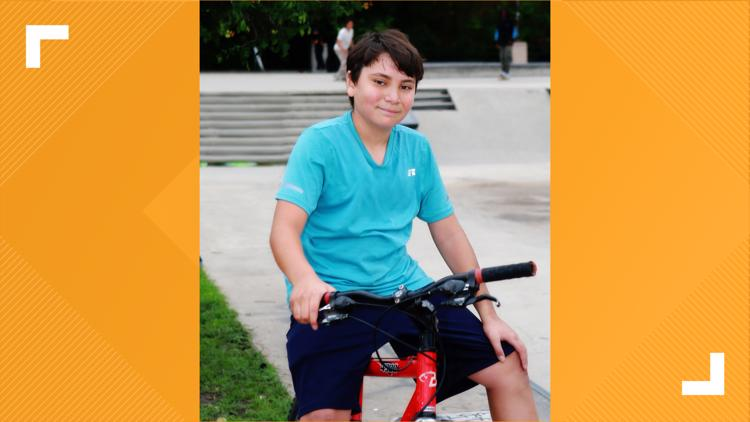 12-year-old Austin boy looking for his forever family gets biking lessons from BMX pro