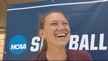 Texas A&M softball pitcher at Austin Regional: 'I don't particularly like this place'