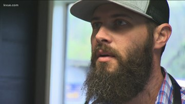 Hays County veteran trades six-figure salary to work with leather