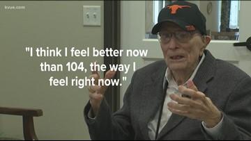WWII vet, UT alum celebrates 105th birthday