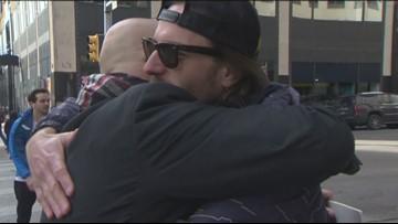 Austinites participate in 'Free Hug Day'