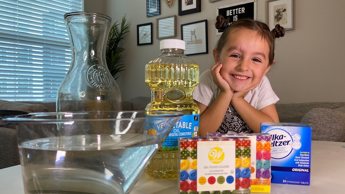 How to make your own lava lamp at home