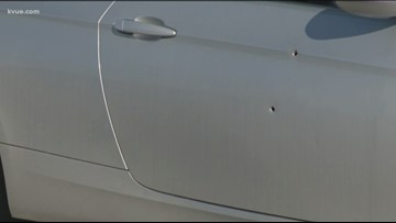 Passenger allegedly fires at Austin man's car in road rage incident
