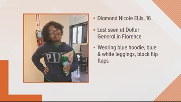 Authorities looking for missing Williamson County girl