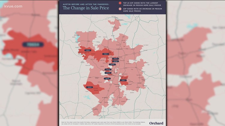 Austin's housing boom: New study shows which ZIP codes are seeing most growth post-pandemic