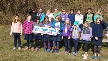 Third-grade girls saving planet Earth one meal at a time