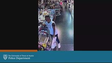 VIDEO: UTPD looking for man who grabbed UT staff member in 'threatening manner'