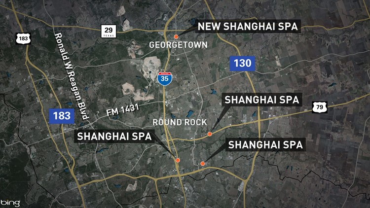 13 arrested, several Central Texas massage parlors allegedly behind