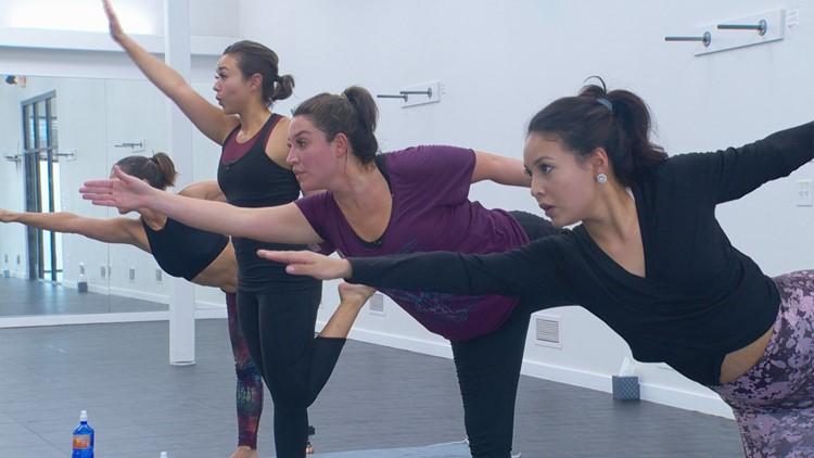 KVUE Daybreak cranks up the heat doing hot yoga