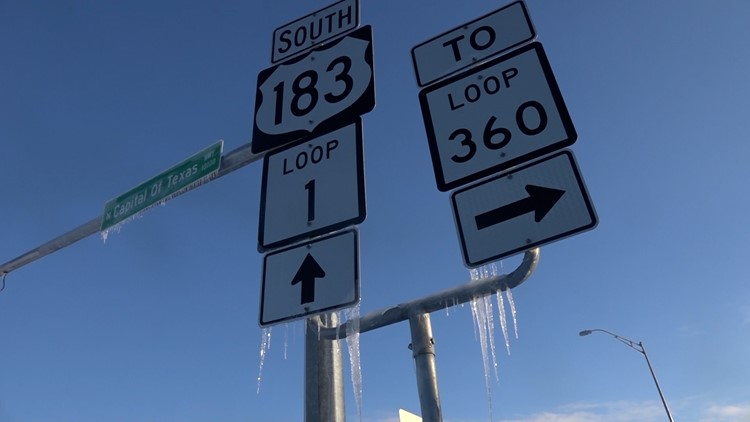 Blog: Icy conditions force closures of roads, services in Austin area Saturday