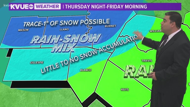 FORECAST: Patchy rain tonight; Very Windy Thursday