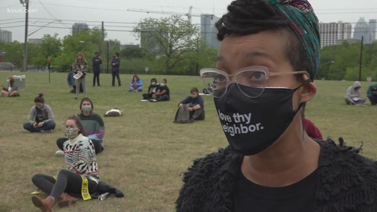 Breathe rally in Austin encourages action after Derek Chauvin verdict