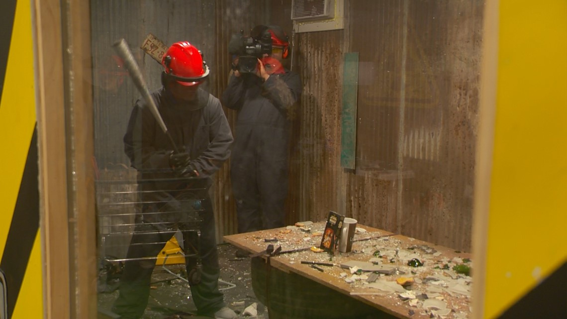 512 Rage Room in Kyle allows guests to let it all out