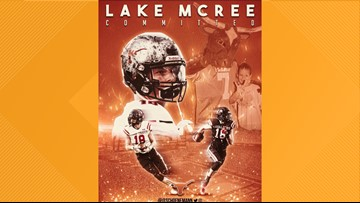 Texas commit Lake McRee likely to miss 2019 season