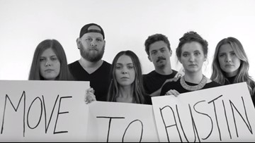 Nashville comedy group's 'PSA' begs viewers to move to Austin