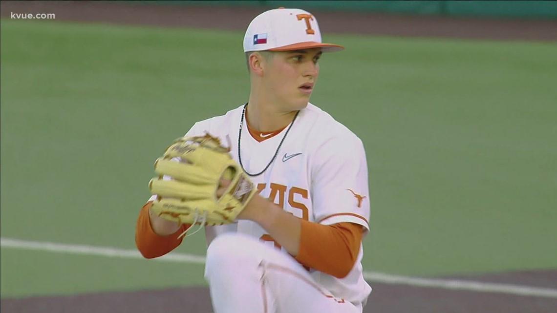 Texas Baseball's Madden selected 32nd overall in 2021 MLB Draft