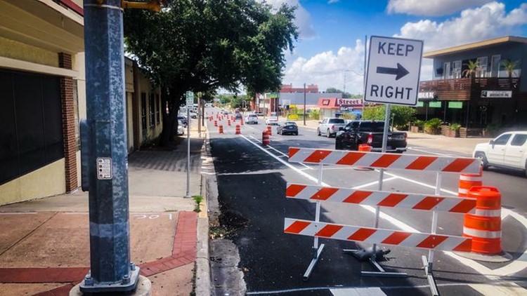 Project San marcos bike lane