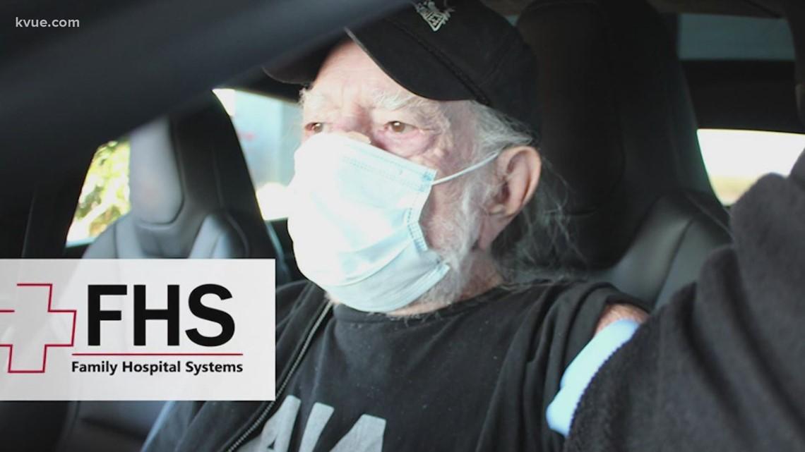 Willie Nelson gets coronavirus vaccination in Austin area