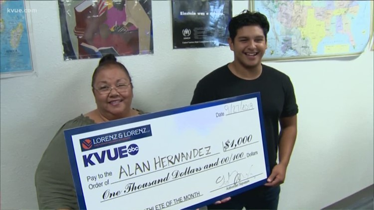 KVUE Scholar Athlete of the Month – September 2019