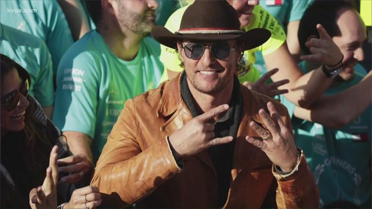 Matthew McConaughey to serve as grand marshal at COTA's NASCAR race