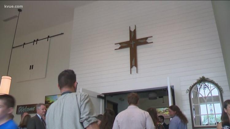 Major milestone as Sutherland Springs dedicates new building