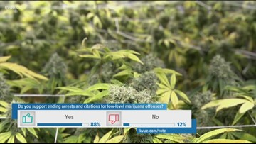Austin City Council will consider ending some marijuana possession penalties