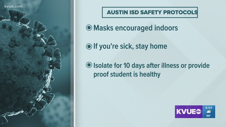 Austin ISD among local districts strongly encouraging masking in upcoming school year