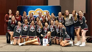 Bastrop HS cheer team punches ticket to national competition, looks for community support
