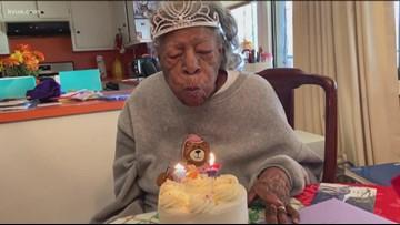 Austin woman celebrates her 100th birthday