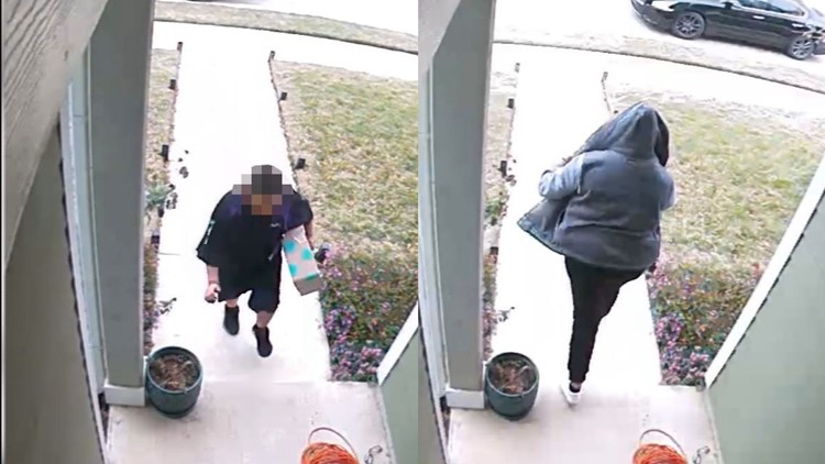 A child, a package and a thief | East Travis County woman perplexed over package delivery, theft
